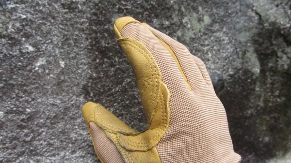 El refuerzo del dedo índice del Cordex es único y útil ...