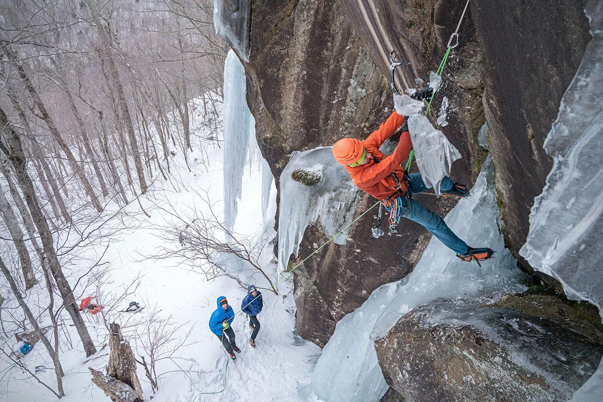 Escalada en hielo (Scarpa Phantom Tech)