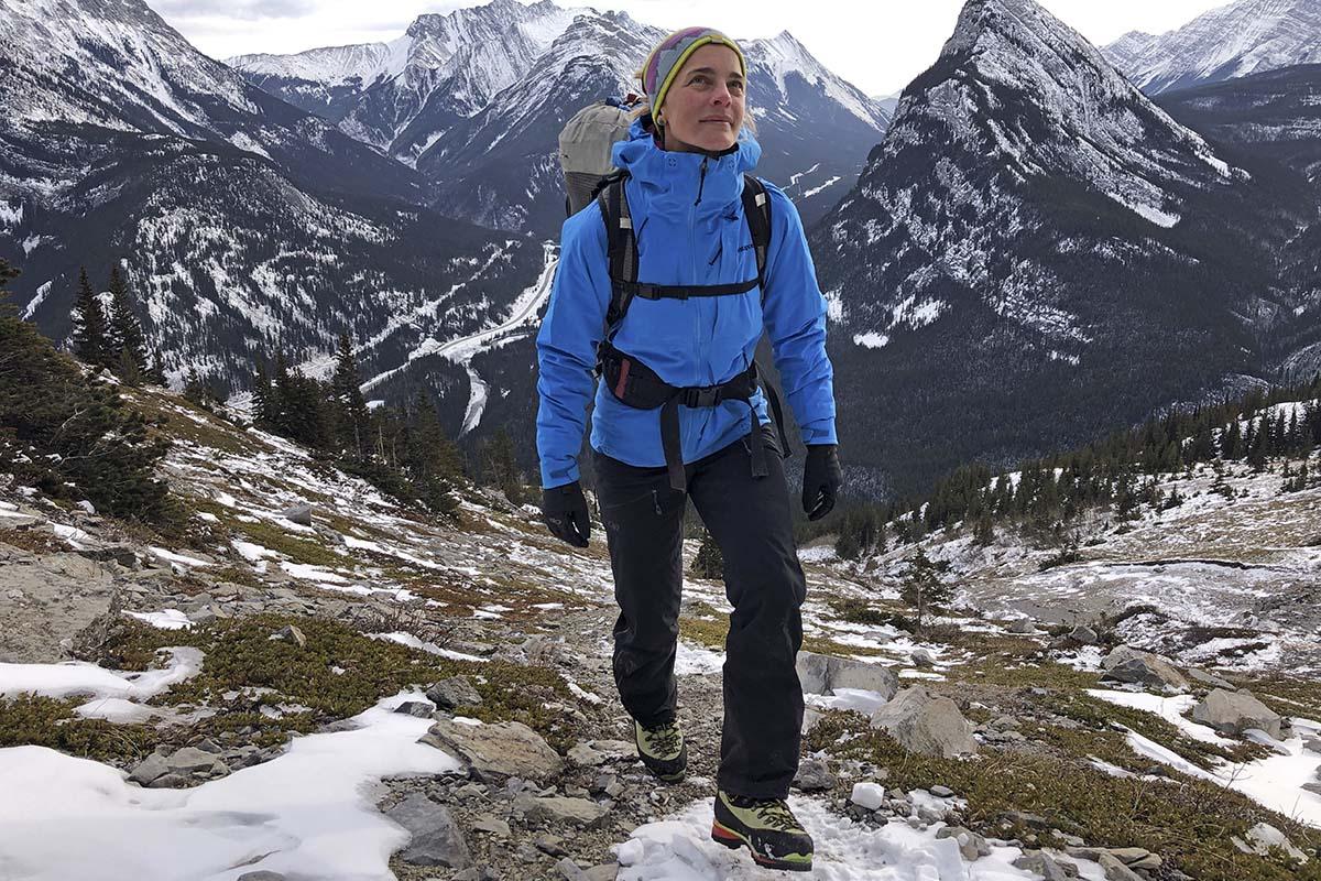 Botas de montañismo (senderismo en La Sportiva Nepal Evo)