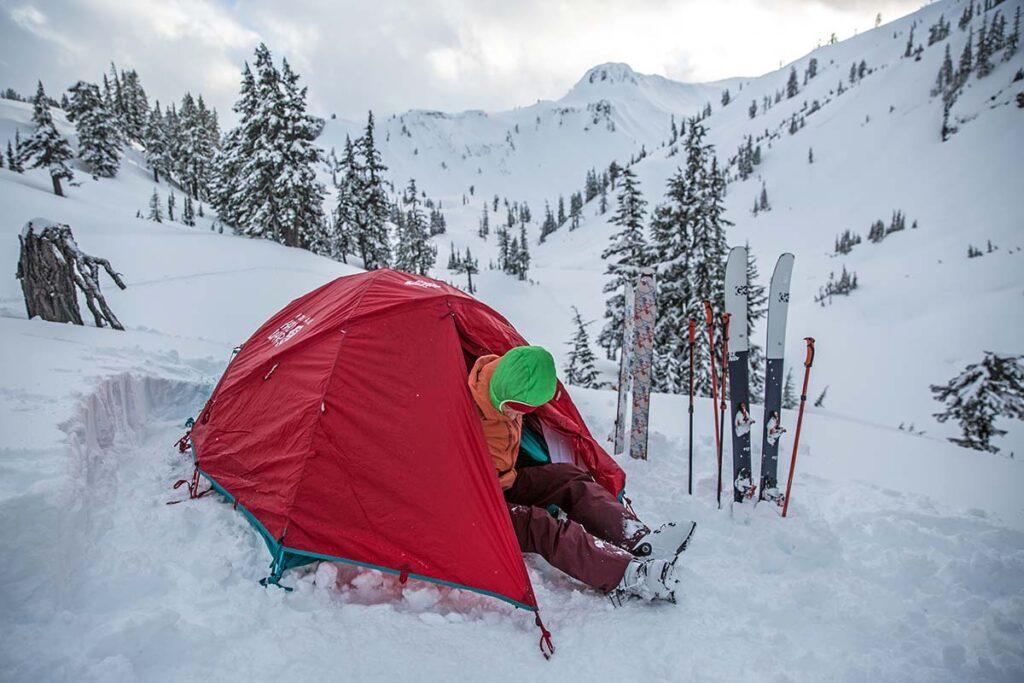 Tienda de montañismo 4 estaciones Mountain Hardwear Trango 2