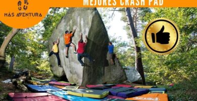 mejores colchonetas crash pad escalada