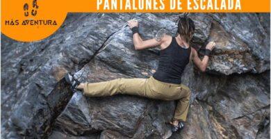 pantalones escalada